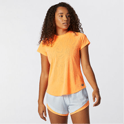 New Balance - Q Speed Fuel Jacquard Short Sleeve