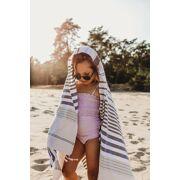 Beachlife - Lilac Check  badpak Kids