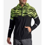 Brooks -Fluo Regen Jas Nightlife jacket Heren