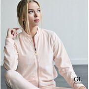 GL- Amour -Fluwelen Huispak ( vest + broek)