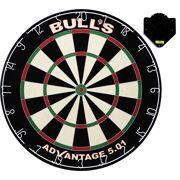 Bull's - Advantage 501 Dartboard incl. Clickfix Bracket