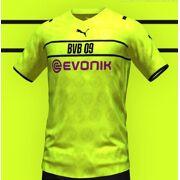Puma - BVB Cup Shirt Replica Heren