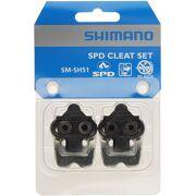 Shimano - Schoenplaatjes SM-SH51 SPD met borgplaatje