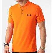 EA7 Emporio Armani - Jersey Polo T-shirt Heren