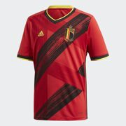 Adidas- Rode duivels voetbalshirt RBFA H JSY Y netto Kids