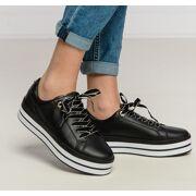 Tommy hilfiger - Zwarte Sneaker Dames