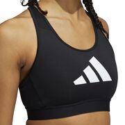 Adidas -  3 Bar Bra Sportbeha dames