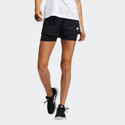 ADIDAS PACER 3S 2 IN 1 SHORT