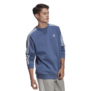 Adidas - 3-stripes crew sweater Heren