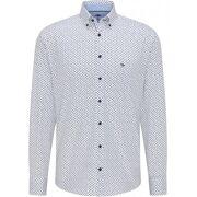 Fynch-Hatton- Premium  Printed Casual-Fit Cotton Shirt Heren