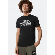 The North Face - M S/S Woodcut Dome Tee - Heren