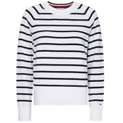 Tommy Hilfiger - Sweater Kara c-neck Sweater Stripe Dames