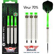 BULL'S VIRUS 70% TUNGSTEN 21G-23G-24G-25G