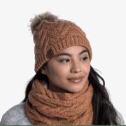 Buff - Caryn Knitted & Fleece Hat - Muts voor dames