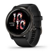 Garmin - Venu 2 - Slate stainless steel bezel with black case and silicone band - netto