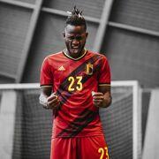 Adidas- Rode Duivels Voetbalshirt RBFA H JSY netto Unisex