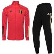 Adidas - Rode Duivels Trainingspak  RBFA TK SUIT Y GLORED/BLACK netto kids