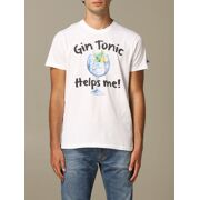 MC2 Saint Barth - T-shirt  Gin Helps Heren
