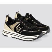 Liu Jo - Sneaker Black Suede Dames