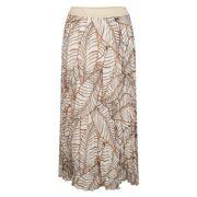 Esqualo- Rok Skirt Plisse Terra Tropicana Dames