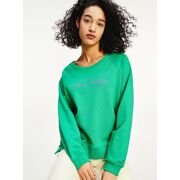 Tommy Hilfiger - Relaxed Script C-neck hoodie Dames