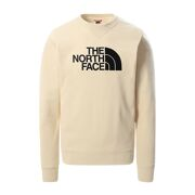 The North Face - M Drew Peak Crew Light Bleached Sand - Heren