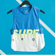 Superdry- Top Training grapic block vest dames