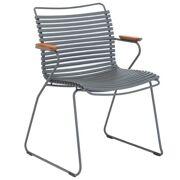 Click stoel met armleuningen