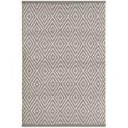 Tapijt Diamond Graphite/Ivory - 183 x 274 cm