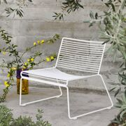 Hee Lounge chair white (stockmodel)