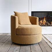Oval armchair