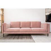 Sigge zetel velvet roze