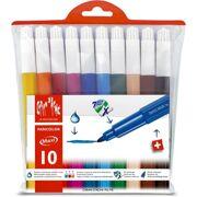 Caran D'Ache - Fancolor Extra Large Fibre Pens - 10 stuks