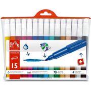 Caran D'Ache - Fancolor Extra Large Fibre Pens - 15 stuks