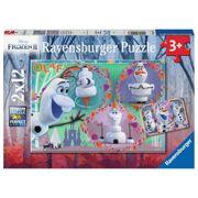 Puzzel Iedereen houdt van Olaf 2 x 12 stuks - RAV 051533