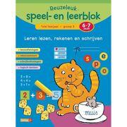 Boek Reuzeleuk speel- en leerblok Lezen, rekenen en schrijven (6 - 7 jaar) - Deltas 0643008