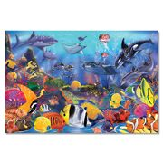 Melissa & Doug vloerpuzzel onderwater (48 st)