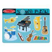 Melissa & Doug puzzel met geluiden - Muziekinstrumenten