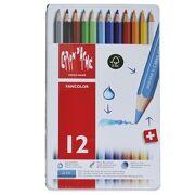 Caran D'Ache - Fancolor Colour Pencils - 12 stuks