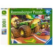 Puzzel John Deere Grote Wielen 100 stuks - RAV 129836
