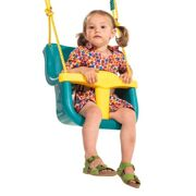 Luxe Babyzitje geel/turquoise - KBT 131.007.007.001