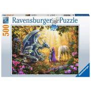 Puzzel Drakenfluisteraar 500 stuks - Ravensburger 165803