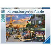 Puzzel Romantische avond in Parijs 2000 stuks - RAV 167166