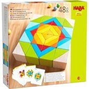 3D-compositiespel Blokkenmozaïek - HABA 305459