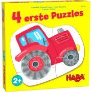 4 eerste puzzels Boerderij - HABA 306180