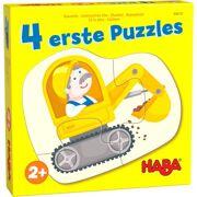 4 eerste puzzels Bouwplaats - HABA 306181