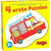 4 eerste puzzels Hulpvoertuigen - HABA 306182