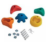 Klimstenen multicolor (set van 5 stuks) medium - KBT 347.002.007.004
