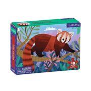 Mini Puzzel Rode Panda 48 stuks