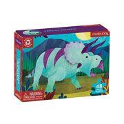 Mini Puzzel Triceratops